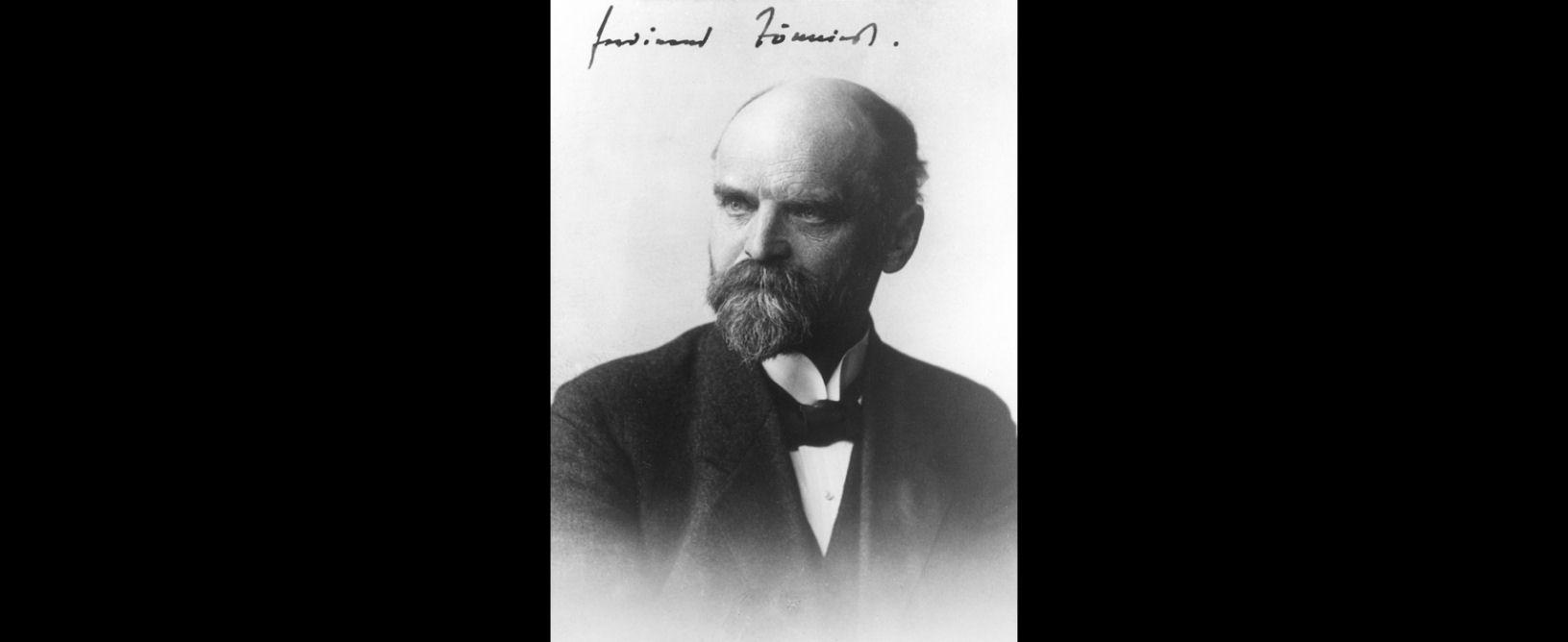 La teoría de Ferdinand Tönnies